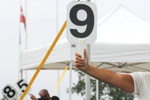 Nogle gange får dommere lov til at vise de store tal. Foto: KB