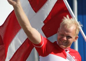 Søren Madsen på skamlen. Foto: KB