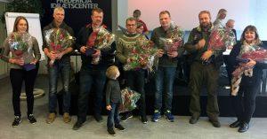 Fra venstre: Sys Pilegård, Lars Simonsen, Lars Mehl, Jóhann R. Skúlason, Jóanis í Hoygardinium, Søren Soelberg, Lis Lysholm.