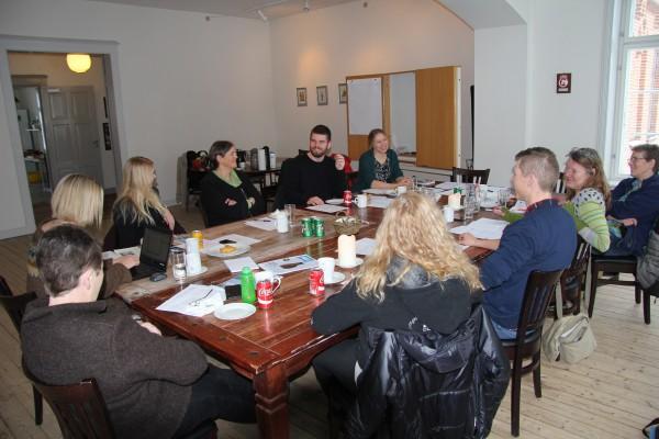 Redaktionsmøde 23. januar 2016 på VB